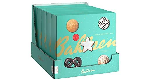 Bahlsen Weihnachts-Mix – 5er Pack – Mit Klassikern wie Lebkuchen und Zimtsternen (5 x 500 g)