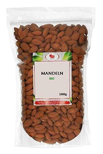 Mandeln / Mandelkerne / 1kg / Nüsse / Ganz / Superfood / Premium Ware / 100% Natural BIO