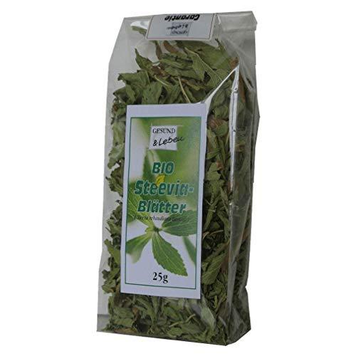 BIO Steevia Blätter (ungeschnitten) 25g