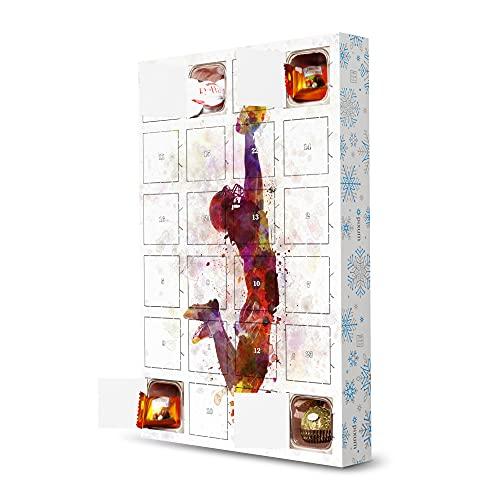 artboxONE Adventskalender mit Pralinen von Ferrero American Football Player Adventskalender Sport