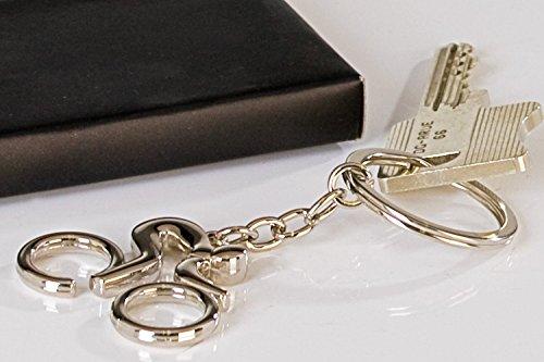 Casablanca Schlüsselanh.Biker Silber glänn.L.9cm