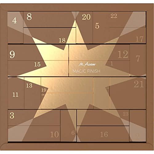 ASAM Adventskalender 2021 Beauty -Magic Finish- Frauen Kosmetik Advent Kalender Asambeauty, 24 Geschenke Wert 170 €, Pflege Frau, Adventkalender
