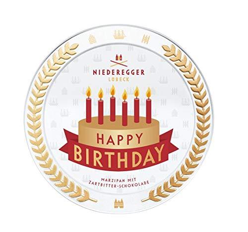 Niederegger Motto-Dose 'Happy Birthday', 185 g
