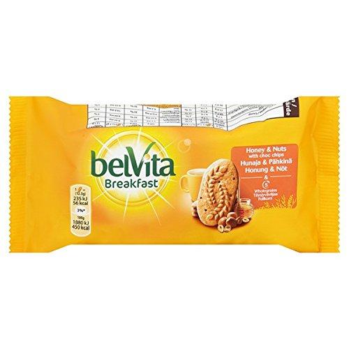 Belvita Frühstückskekse Honig und Nüssen 50g (Packung mit 20 x 50 g)
