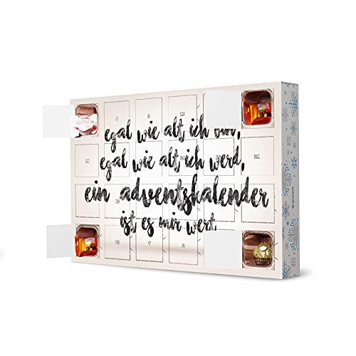 artboxONE Adventskalender mit Pralinen von Ferrero Adventskalender 4 Adventskalender Typografie