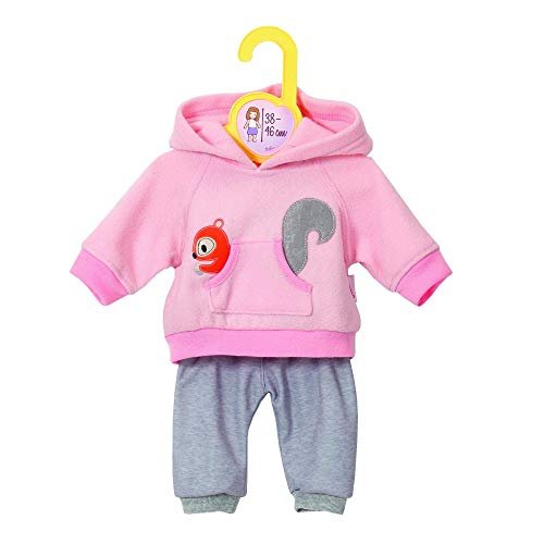 Zapf Creation 870044 Dolly Moda Sport-Outfit Pink, Puppenkleidung 39-46 cm