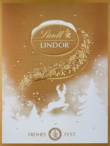 Lindt Lindor Gold Adventskalender, 1er Pack (1 x 289 g)