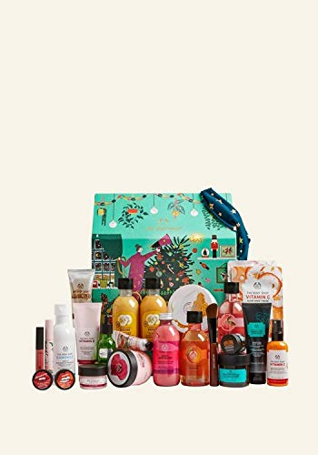 The Body Shop Ultimate Adventskalender 2020 für die Frau, Beautykalender Wert 300 €, 24 Damen Kosmetik Produkte, TheBodyShop Advent Calendar