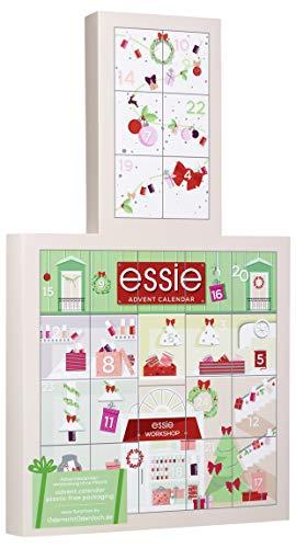 Essie Adventskalender 2020 Nagellack - 24 hochwertige Überraschungen, moderne Nagellack-Farben, Pflege und Accessoires, limitierter Kalender