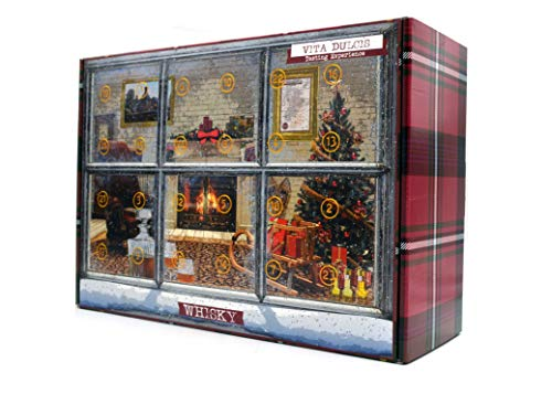 Vita Dulcis Whisky Adventskalender Edition Basic Scotch 2018-24x0,02l