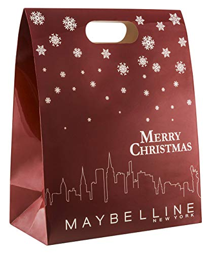 Maybelline New York Adventskalender, Do-It-Yourself, mit 24 Beauty Produkten, Tüten und Aufklebern zum Selbstbefüllen und Basteln