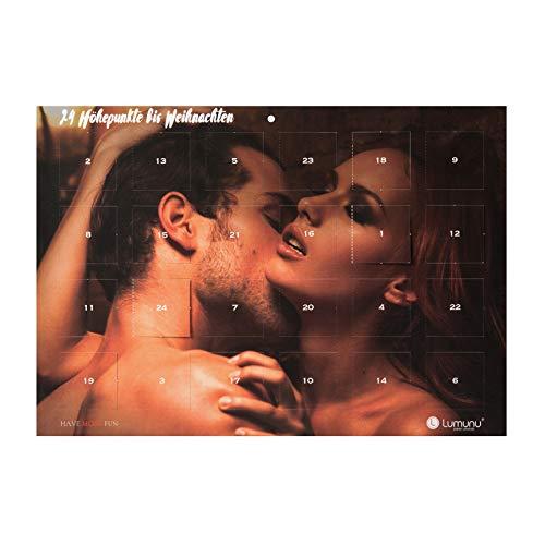 Deluxe Erotik-Adventskalender 2019 mit 24 erotischen Aufgaben für Frauen, Männer & Paare, 24 Höhepunkte bis Weihnachten, von Venize