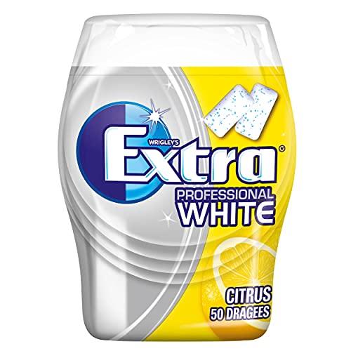 WRIGLEY'S EXTRA Professional White Citrus   Zuckerfrei   Eine Dose (1 x 50 Dragees)