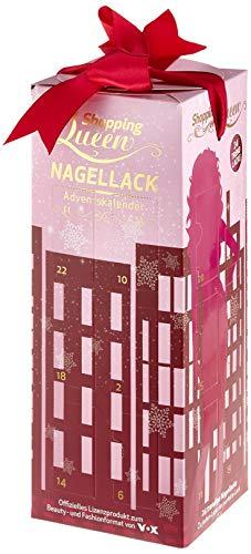 Der Shopping Queen Nagellack-Adventskalender für alle Fans der VOX Styling-Doku 'Shopping Queen'