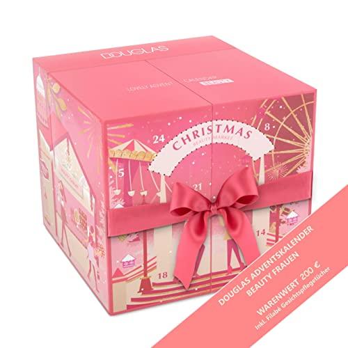DOUGLAS Adventskalender 2021 Beauty -Premium EDITION- Frauen + Mädchen Kosmetik Advent Kalender , 24 Kosmetik Geschenke Wert 200 €, Pflege Frau, Adventkalender Damen