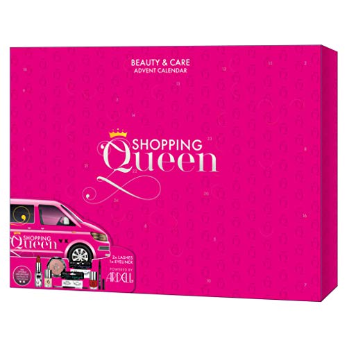 Shopping Queen meets ARDELL: Beauty & Care Adventskalender für Shopping Queens und Wimperwunder, Christmas Edition mit Lashes, Mascara, Make-Up, Kosmetik & Accessoires