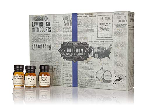 Various Distilleries - Drinks By The Dram Bourbon Advent Calendar (2018 Themed Edition) - Whisky