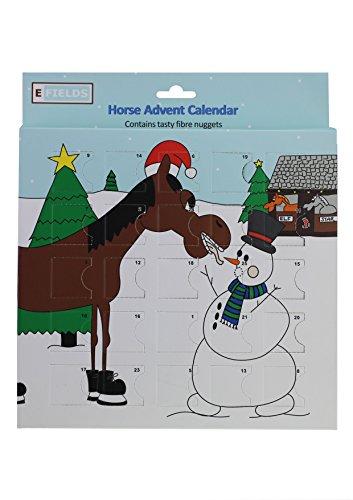 Efields-Pferde-Adventskalender, enthält leckere Fasernuggets für Ihr Pferd.