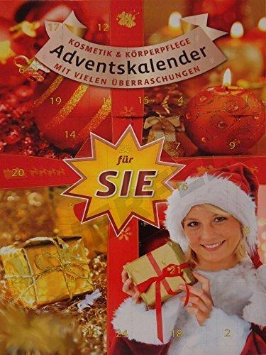 großer Kosmetik Adventskalender/Weihnachtskalender für Sie (Damen/Frauen) 60cm hoch