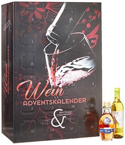Handelshaus Huber-Koelle Wein-Adventskalender'Modell Glas' (24 x 0.25 l)
