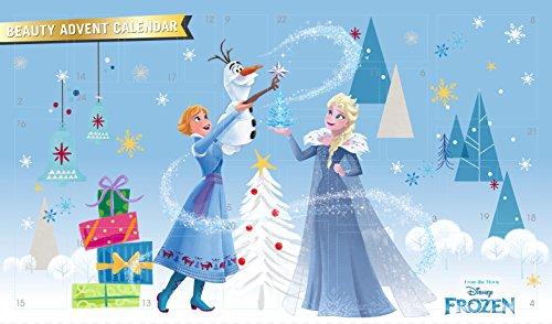 Frozen Beauty Adventskalender 2019 mit 24 tollen Überraschungen von Anna & Elsa für Haare, Nägel, Augen & Lippen