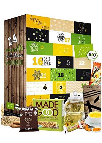 Adventskalender 2020 Gesund I GESUNDER ADVENTSKALENDER I Gesunde Snacks in der Weihnachtszeit I Adventskalender für bewusste Menschen Sportler und jedem mit healthy Lifestyle Produktname