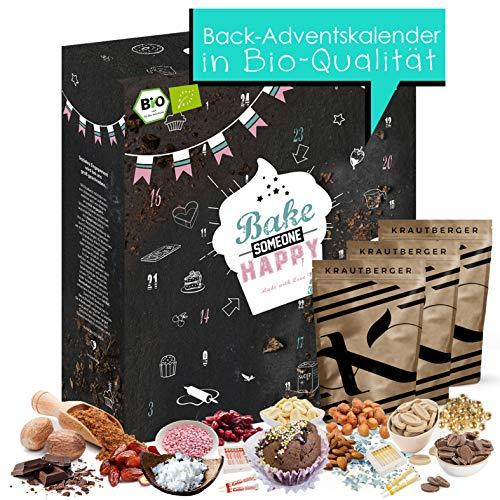 Adventskalender Backen I Geschenkidee für Mütter I Kalender für Hobbyköche I aufregende Adventszeit mit Zubehör zum Kochen für Genießer I Adventskalender 2020