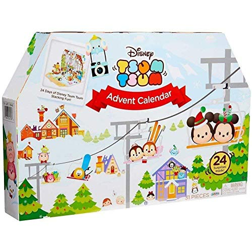 Disney Tsum Tsum Adventskalender offizielle Exklusiv USA Import