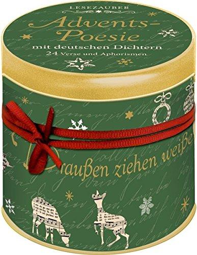 Sprüchedose - Advents-Poesie mit deutschen Dichtern: 24 Verse und Aphorismen