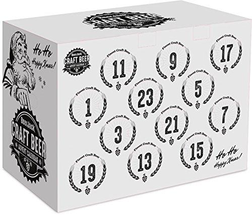 BeerJack Bier Adventskalender 2019 – 24 Flaschen (je 0,33l) deutscher und internationaler Craft Biere
