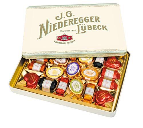 Niederegger Nostalgiedose Marzipanerie, 1er Pack (1 x 270 g)