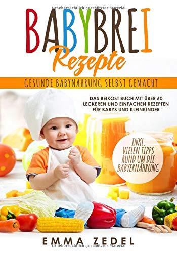 Babybrei Rezepte: Gesunde Babynahrung selbst gemacht: Das Beikost Buch mit über 60 leckeren und einfachen Rezepten für Babys und Kleinkinder
