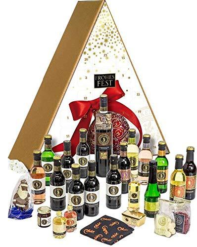 Felsengartenkellerei Besigheim Exklusiver Wein-Adventskalender - gefüllt mit Spezialitäten unseres Hauses