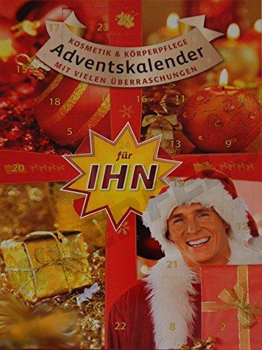großer Kosmetik Adventskalender/Weihnachtskalender für Ihn (Herren/Männer/Herr/Mann) 60cm hoch