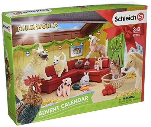 Schleich 97700 - Adventskalender Farm World 2018