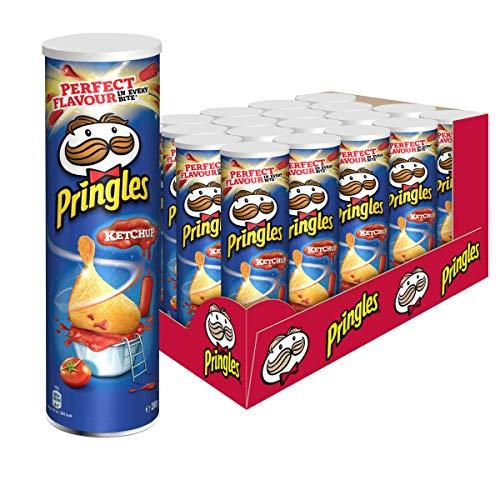 Pringles Ketchup | Chips mit Ketchup Geschmack | 19er Vorratspackung (19 x 200g)