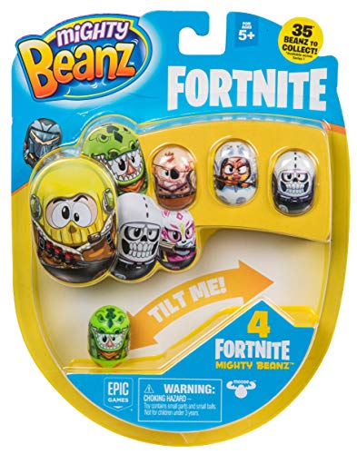 Mighty Beanz 4 Packungen Stile können variieren, Mehrfarbig