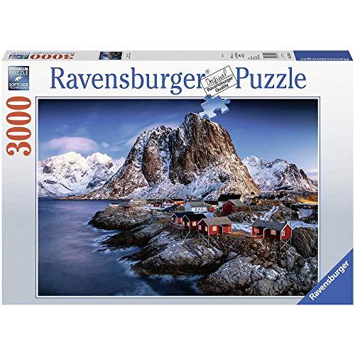Ravensburger 17081 Hamnoy 17081-Hamnoy, Lofoten-Erwachsenenpuzzle