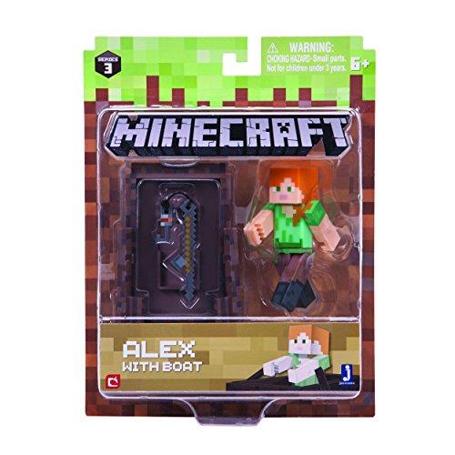Minecraft - 16491 - angelnde Alex mit Accessoire