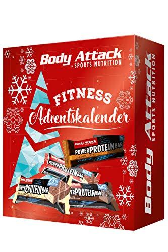 Body Attack Sports Nutrition Original FITNESS-ADVENTSKALENDER 2019-24 sportliche Überraschungen - Mixkalender