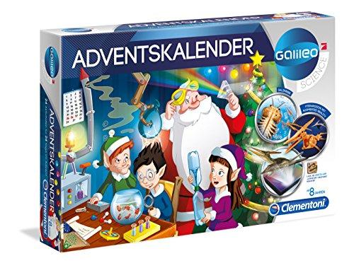 Clementoni 59051.3 - Galileo Adventskalender 2017
