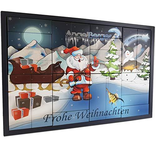 Angel-Berger Adventskalender Weihnachtskalender Angelkalender