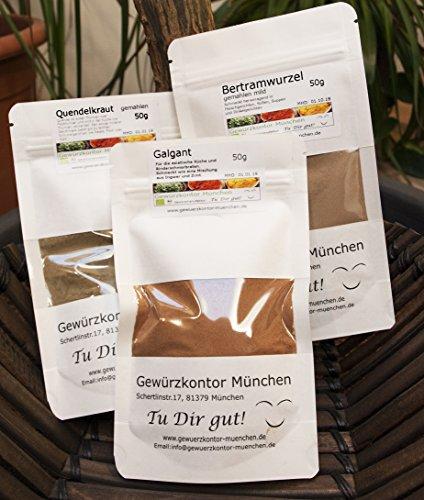 Hildegard von Bingen Gewürze Kräuter Probier -Set Gewürzkontor München