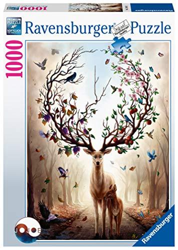 Ravensburger Puzzle 15018 - Magischer Hirsch - 1000 Teile