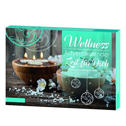 """ROTH Wellness-Advetnskalender """"Zeit für Dich"""" Adventskalender, großes Sortiment aus verschiedenen Materialien, bunt, 50 x 35 cm"""