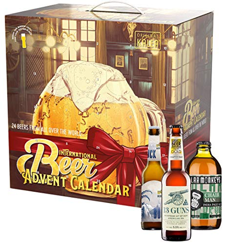 KALEA Bier Adventskalender International 2020, Biere der Welt aus 18 Ländern