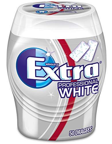 WRIGLEY'S EXTRA Professional White   Zuckerfrei   Eine Dose (1 x 50 Dragees)