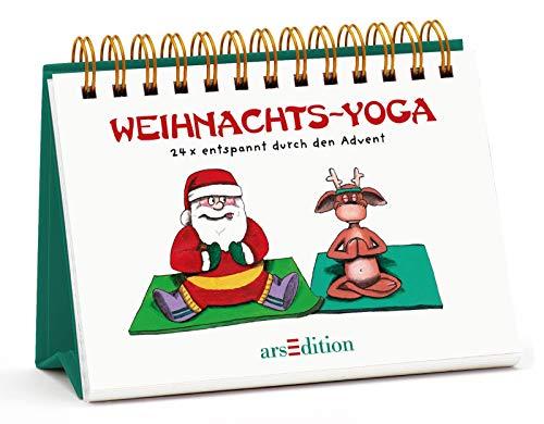 Weihnachts-Yoga: 24 x entspannt durch den Advent (Adventskalender)
