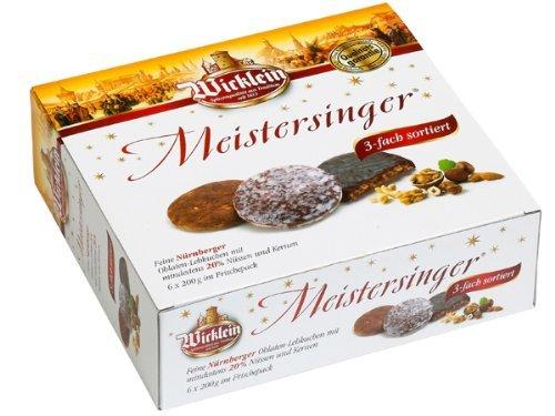 Wicklein Meistersinger Oblaten-Lebkuchen Box 1200g