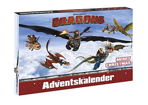 Craze 52120 - Adventskalender DreamWorks Drachenzähmen leicht gemacht